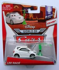 Disney Pixar Cars CHASE  LEE RACE  Very Rare Over 100 Cars Listed UK !!