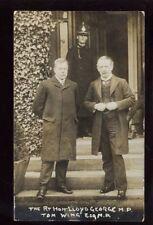 Rt Hon Lloyd George MP and Tom Wing Esq MP RP PPC
