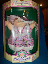 10th ANNIVERSARY EDITION 1992 CABBAGE PATCH KID MINT SEALED in BOX ZORA MAE