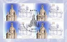 BRD 2005: Frauenkirche Dresden! Viererblock Nr 2491! Berliner Stempel! 1A! 1608