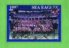#MM.  1997  MANLY SEA EAGLES RUGBY LEAGUE TEAM PICTURE - SIGNATURES