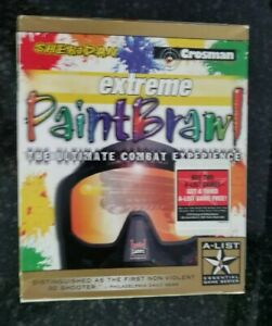 NEW SEALED Extreme PaintBrawl 1998 Big Retail Box Pc Software CD-rom Game