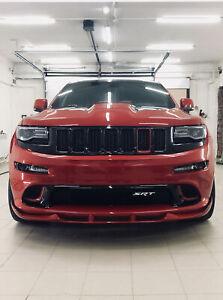 2011-2016 Jeep Grand Cherokee SRT Trackhawk Front Bumper Lip Splitter spoiler