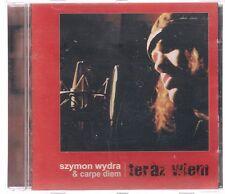 SZYMON WYDRA & CARPE DIEM - TERAZ WIEM 2002 OOP TOP RARE POLISH CD POLSKA POLAND