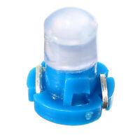 Blue 10x T3 Neo Wedge Car LED Bulb Cluster Instrument Dash Climate Base Light