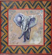 "Original painting - Contemporary by Gabriele Liedtke ""Elephant"" Africa animal"