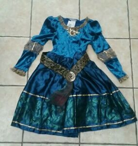 DISNEY PARKS Exclusive MERIDA Fancy Dress Costume Child Small Age 3-6 YEARS NEW