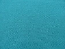RICHLOOM SOLID TURQUOISE BLUE INDOOR/OUTDOOR UPHOLSTERY CURTAIN FABRIC BTY 5114F