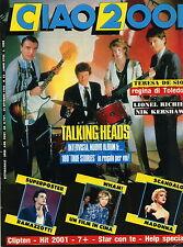 CIAO 2001 42 1986 TALKING HEADS KERCHAW WHAM LIONEL RICHIE RAMAZZOTTI MADONNA