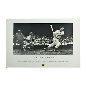 1992 Upper Deck Ted Williams Red Sox Triple Crown Lithograph Photo #/12,000 NEW