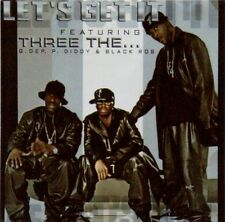 LET'S GET IT Featuring THREE THE... G. DEP, P. DIDDY & BLACK ROB CD