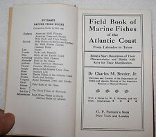 Field Book of Marine Fishes  of the Atlantic Coast from Labrador to Texas 1948