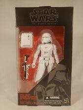 Hasbro Star Wars Black Series 6 Inch #12  First Order Snowtrooper NIB Action...