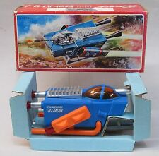 1967 Bandai THUNDERBIRD JET PATROL battery operated hard plastic MINT in box