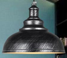 Industrie Retro Vintage Kronleuchter Deckenlampen Eisen E27 SliverPendelleuchte