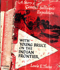 1952 1ST EDITION GENERAL SULLIVAN'S EXPEDITION INDIANS AMERICAN REVOLUTION MAPS