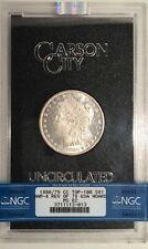 1880-CC GSA Morgan Dollar === REVERSE 1878 ===with Box & COA === NGC  MS-62=== !