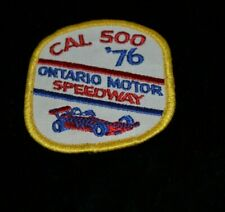 ONTARIO MOTOR SPEEDWAY GOLD CHARM BRACELET NECKLACE SOUVENIRS RACING INDY NHRA