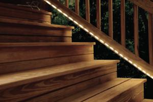 Hampton Bay 5.5-Watt 400LM Warm White Outdoor Strip Light LED Landscape Path