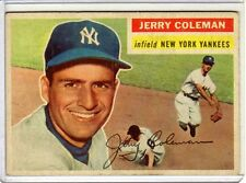 1956 Topps Jerry Coleman # 316 Vg-Ex