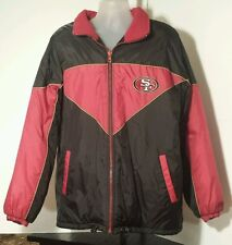 San Francisco 49ers NFL Unique Brand Reversable Winter/Snow jacket Adult Size XL