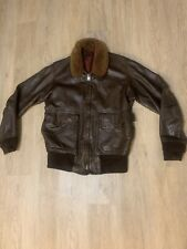 Vintage Usn Us Navy G1 Leather Bomber Jacket Sz 36 Vintage