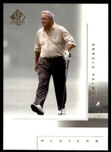 2001 SP Authentic #108 Arnold Palmer MP NM-MT *240