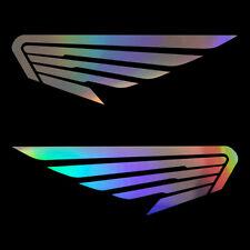 2PCS Angel Wings Birds Feather Vinyl Sticker Decal Car Bumper Wall Window Laptop
