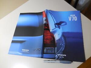 VOLVO V70 Japanese Brochure 2001/05 5244