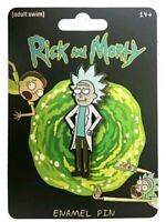Rick and Morty Bushworld Adventures Bendigo Scene Metal Enamel Pin NEW UNUSED