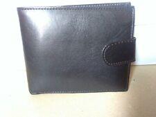 Lloyd Attree & Smith Black Leather Bifold Men's Wallet,New