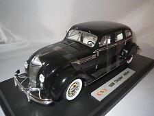 """Signature Models  """"1936""""  Chrysler  Airflow  (schwarz/alt-weiß)  1:18 OVP"""