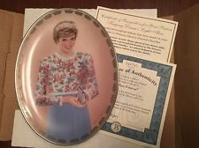NIB Princess Diana Bill Chambers Queen of Our Hearts Plate A True Princess 1997