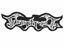 """FINNTROLL Viking Metal Iron On Sew On Shirt Applique Badge Patch 4.6"""""""