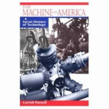 The Machine in America: A Social History of Technology-ExLibrary