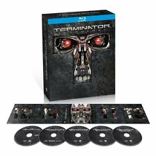 The Terminator Anthology 1-4 Judgment Day Rise of the Machines Salvation Blu-ray
