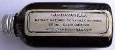 50 ml BOURBON VANILLA EXTRACT  FROM MADAGASCAR LAST HARVEST