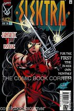 Marvel Comics 1996 ELEKTRA #1 Ongoing Series Cover Near Mint Daredevil