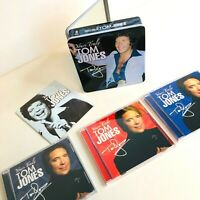 Tom Jones Yours Truly Music CD Set 3 Discs All in a Collectors Tin November 2006