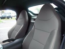 PONTIAC SOLSTICE GREY LEATHER-LIKE CUSTOM MADE FIT FRONT SEAT COVER