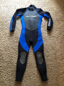 Body Glove Arc Three Junior's Blue Black Winter Youth Wetsuit Size 12