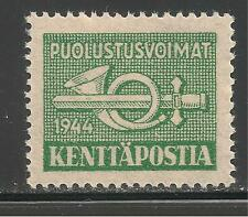Finland #M6 (M2) Vf Mnh - 1944 2m Post Horn and Sword
