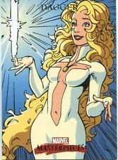 Marvel Masterpieces 2007 Base Card #21 Dagger