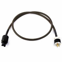 Plated Audiophile Hi-End Mains Audio Power Cables 3-pin US Plug Hifi Connectors