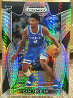 2019-20 Panini Prizm Draft Picks #74 Silver Hyper /75 Cam Reddish Rookie Duke