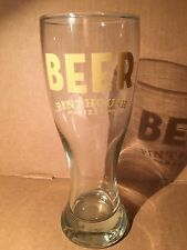 Pinthouse Pizza Brewpub Austin Texas Tall Craft Beer Glass