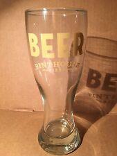 Pinthouse Pizza Brewpub Austin Texas Tall Craft Beer Glass