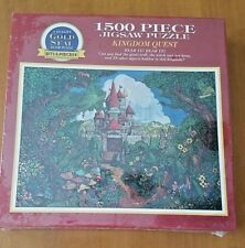 Kingdom Quest Bits and Pieces 1500 Piece Jigsaw Puzzle Sealed 1995 NIB