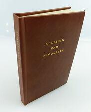 Minibuch: Aucassin et Nicolette altfranzösische amour novelle e283