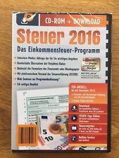 Steuer CD 2016 Aldi Einkommensteuer 2016 Neu und OVP